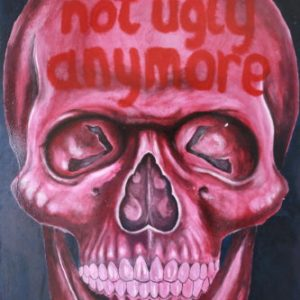 Not Ugly Anymore! - Oil on Board - 60 x 90cm