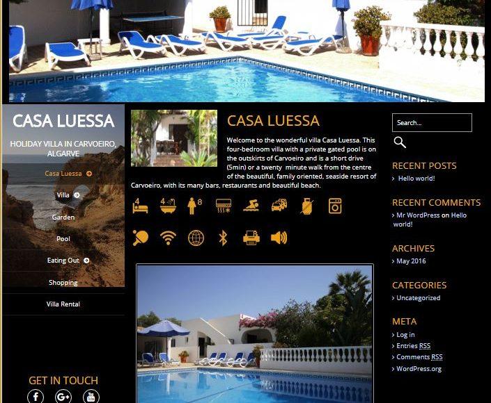 Casa Luessa Holiday Villa